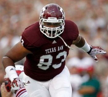 Texas A&M DT Tony Jerrod-Eddie