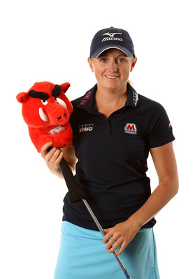 Stacy Lewis graduated from Arkansas