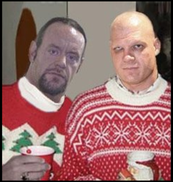 Undertaker And Kane In Real Life Official Pro Wr...
