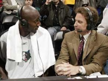 """Man, you gotta chill,"" said KG to Harlan."