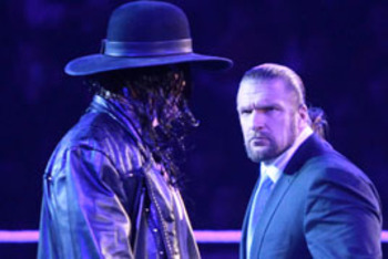 Undertaker and Triple H