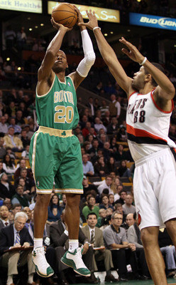 Ray Allen's return to the Celtics lineup is imminent.