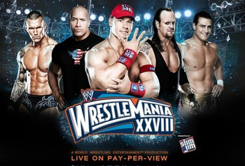 WrestleMania 28 Promotional Poster