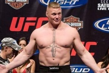 BROCK LESNAR & Entourage Head To WM28, Coachman Hints At Batista