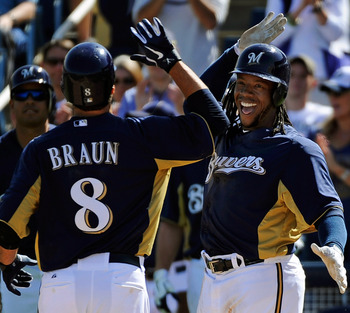 It looks like only the Milwaukee Brewers stand in the Cards' way.