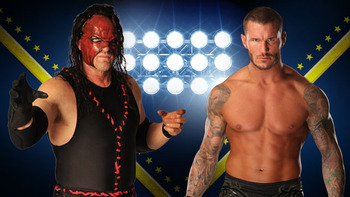 Kane and Randy Orton (Photo by WWE.com)