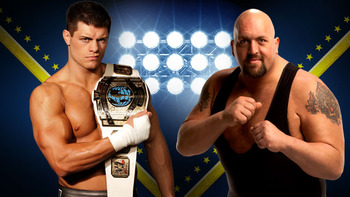 Cody Rhodes and The Big Show (Photo by WWE)