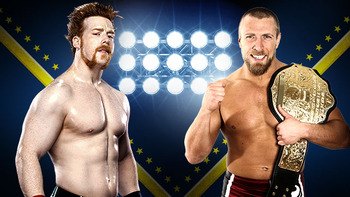 Sheamus and Daniel Bryan (Photo by WWE.com)
