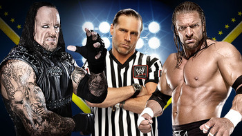 The Undertaker, Shawn Michaels, & Triple H