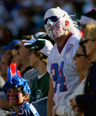 Bills Mafia has made its presence felt at Ralph Wilson Stadium.  Getty Images