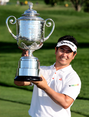 Y. E. Yang won the 2009 PGA Championship