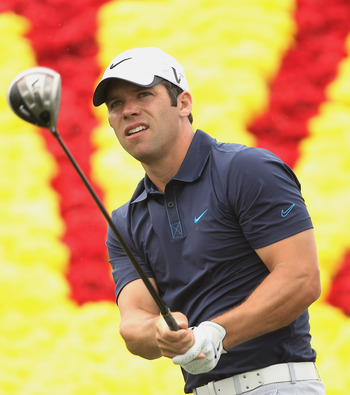Paul Casey has been trying to return to form after injuries slowed him down.