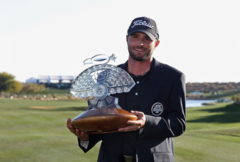 Kyle Stanley won the 2012 Waste Management Phoenix Open