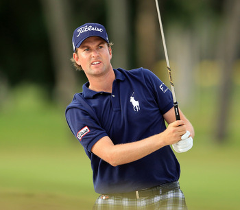 Webb Simpson finished second in the PGA Money List in 2011