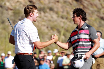 Hunter Mahan beat Rory McIlroy for the WGC-Accenture Match Play title