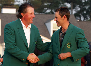 Charl Schwartzel won the 2012 Masters