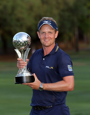 Luke Donald is the No. 1 ranked player in the world
