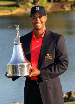 Tiger Woods won for the first time in over three years at the Palmer Invitational