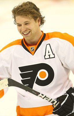 Playing alongside future Hall-of-Famer Jaromir Jagr, Giroux has emerged as an NHL superstar.