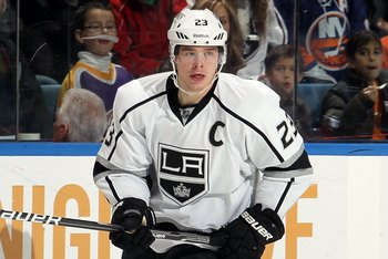 Dustin Brown captains the Kings.  Does that make him the...king of Kings?