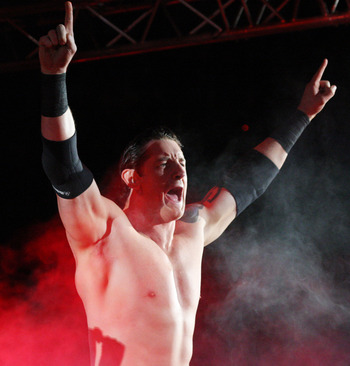 Barrett should once again be a top heel upon his return from injury.