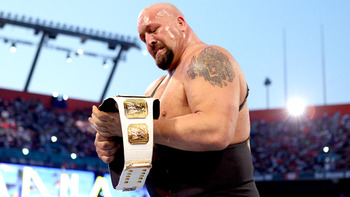 Your new Grand Slam Champion, Big Show. Image by WWE.com