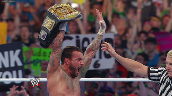 The WWE Champion retained. Photo by WWE.com