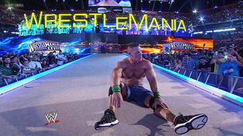 Loss, sadness and despair Cena? Image courtesy of WWE.com