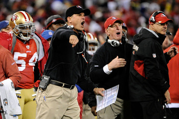 Jim Harbaugh energized the 49ers