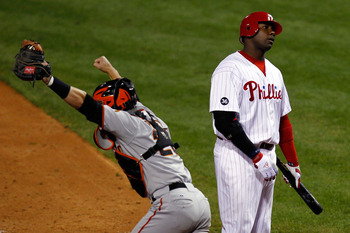 Howard bewails the Phillies' 2010 NLCS loss to San Francisco.