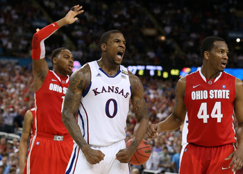 Robinson helped will the Jayhawks to overcome Ohio State.
