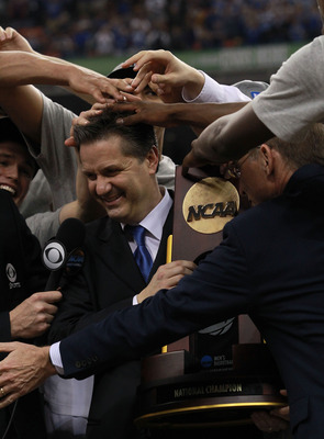 Calipari won his long sought-after championship.