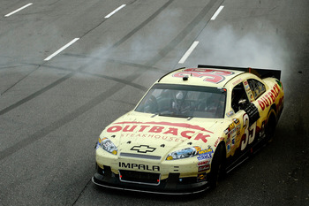 Ryan Newman emerged as the winner Sunday at Martinsville