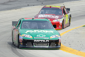 Dale Earnhardt Jr. had another solid run at Martinsville