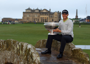Michael Hoey won the 2011 Alfred Dunhill Links Championship at Saint Andrews.