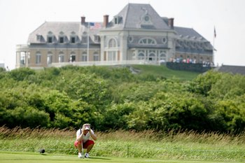 The 2006 Women's US Open was held at Newport.