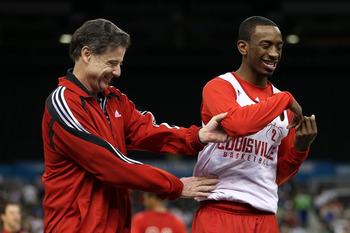 Russ Smith has Pitino smiling again.