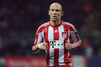 A healthy Arjen Robben makes Bayern more dangerous