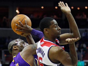 The Wizards lead the league in behind-the-back, no-look defense
