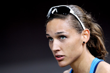 American hurdler Lolo Jones has motivation aplenty after a devastating fall in Beijing.