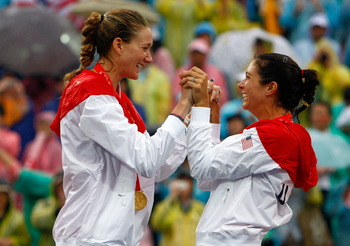 Kerri Walsh (left) and Misty May-Treanor are out for a third Olympic gold.