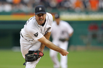 Justin Verlander led MLB with 250 punch-outs in 2011