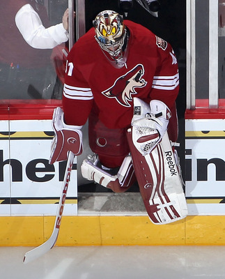 Mike Smith has emerged as a legitimate NHL starter in Phoenix this season.