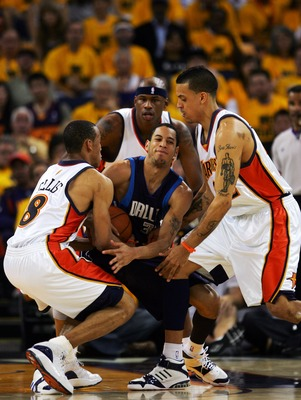 Shown here during the 2007 playoff upset of the Mavs, Ellis was one of the last relics of the Warriors resounding series