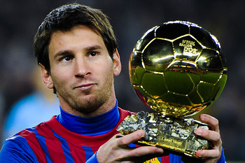 Messi, Ballon D'Or