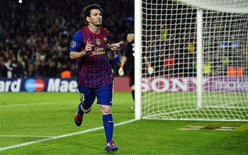Messi on fire!