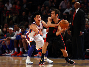 Could Calderon and Lin be teammates next year?