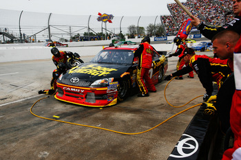 Clint Bowyer is ninth in the standings, but may fall back if he can't win a race in 2012