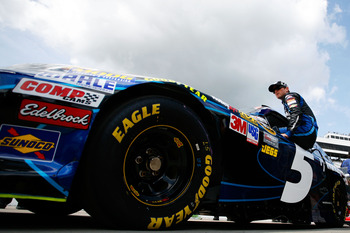 Kasey Kahne's early hole has him in a tougher position than any driver