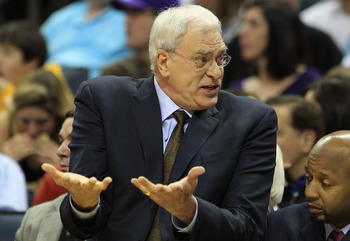 Phil Jackson is probably weighing plenty of options at this time.
